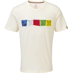 Sherpa Tarcho - T-shirt manches courtes Homme - blanc